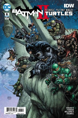 Batman - Teenage Mutant Ninja Turtles II #1-6 (2018) Complete