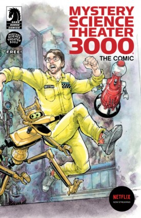 Mystery Science Theater 3000 The Comics Ashcan Edition (2018)