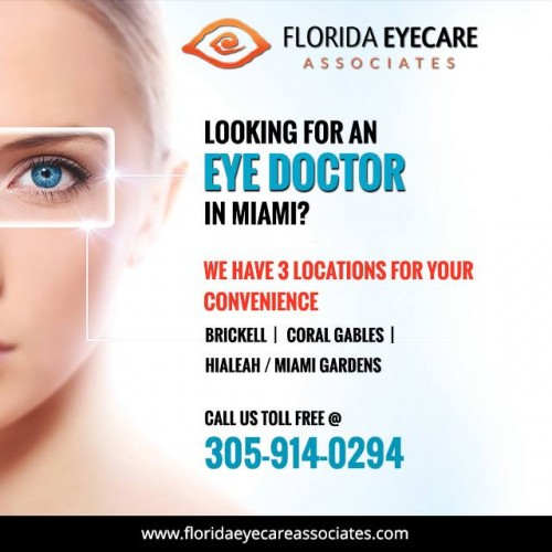 Want to decrease your eye disease & find the best eye care center which enables you to fix your eye problem? You Come to the right place, don't go anywhere. Get in touch with Florida Eyecare Associates that will provide you with the best Dry Eye Specialist Miami location that concentrates to your eye issue properly & supplying the best therapy a remarkable encounter. He can help you get extensive eye examinations, analysis, and treatments for ocular illness, pre and post-surgical want to you. Schedule your Appointment today