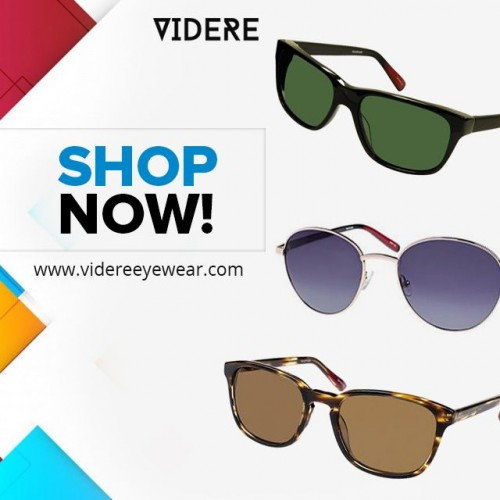 "Find the Ideal sunglasses for your eye vision? Don't need to go anywhere because ""Videre Eyewear"" provide the best eye-catching sunglasses that suits you & protect your eye. As well as they will offer the Discount Luxury Glasses Florida location. Get all the latest information on Events, Sales and Offers, please visit https://bit.ly/2Awr8Q7"