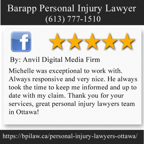 Barapp Personal Injury Lawyer 563 Gladstone Ave Suite 25B Ottawa, Ontario, K1R 5P2 (613) 777-1510  https://bpilaw.ca/personal-injury-lawyers-ottawa/