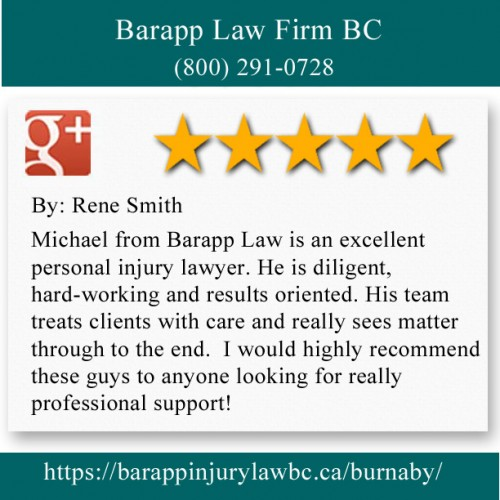 Barapp Law Firm BC 295-4299 Canada Way Burnaby, BC V5G 1H1 (800) 291-0728  https://barappinjurylawbc.ca/burnaby/