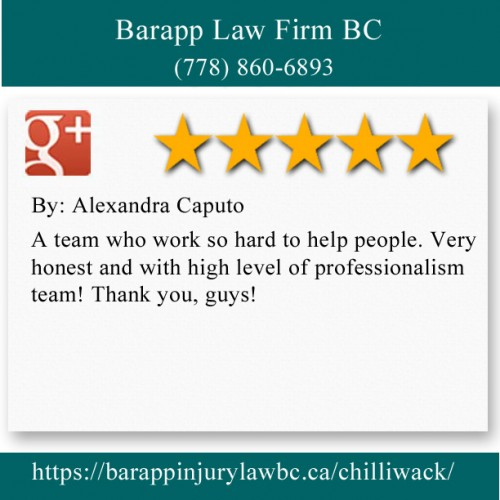 Barapp Law Firm BC 9240 Young Rd Chilliwack, BC V2P 4R2 (778) 860-6893  https://barappinjurylawbc.ca/chilliwack/