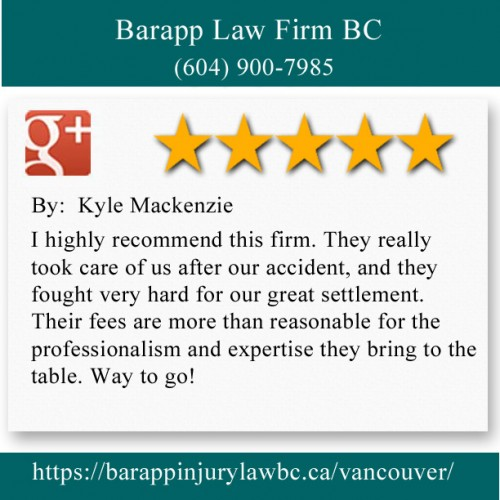 Barapp Law Firm BC 922, 510 W Hastings St Vancouver, BC V6B 1L8 (604) 900-7985  https://barappinjurylawbc.ca/vancouver/