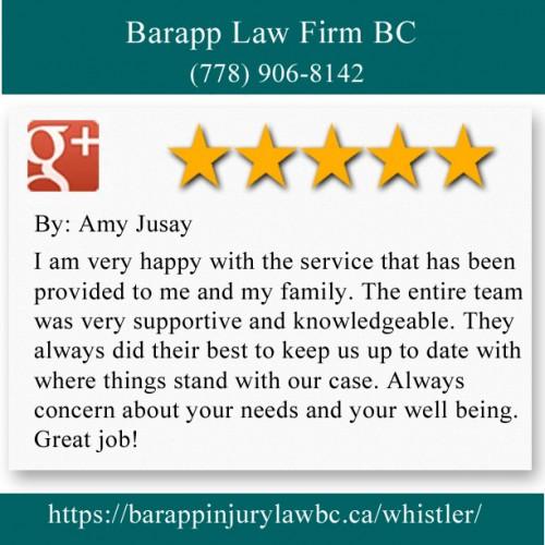 Barapp Law Firm BC 201-4309 Skiers Plaza Whistler, BC V0N 1B4 (778) 906-8142  https://barappinjurylawbc.ca/whistler/