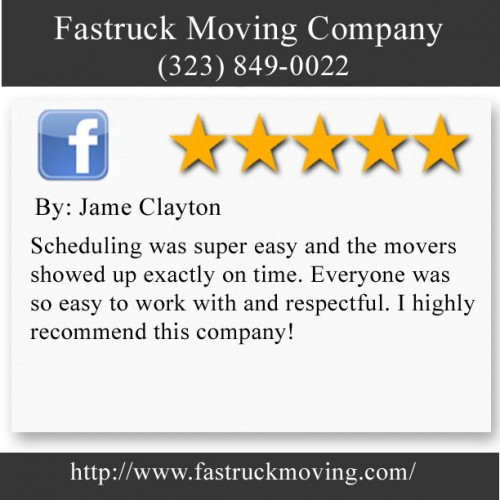 Fastruck Moving Company 11818 Riverside Dr Ste 118 Valley Village, CA 91607 (323) 849-0022  http://www.fastruckmoving.com/granada-hills-movers/