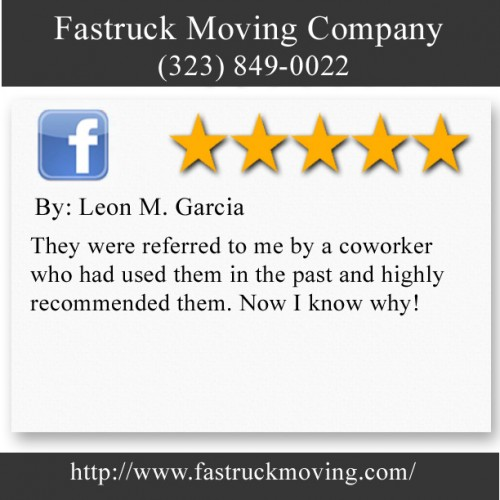 Fastruck Moving Company 11818 Riverside Dr Ste 118 Valley Village, CA 91607 (323) 849-0022  http://www.fastruckmoving.com/glendale-movers/
