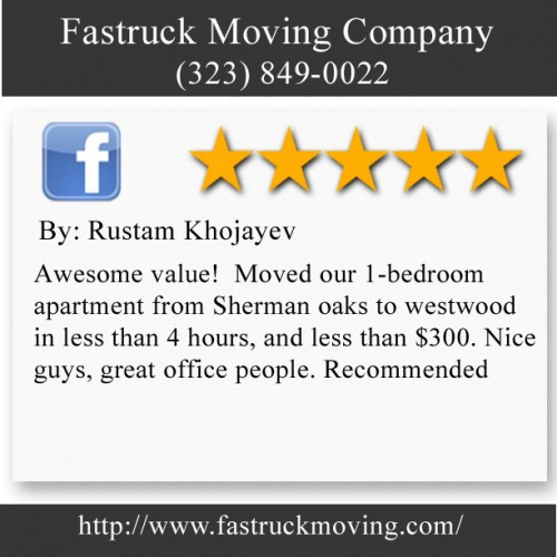 Fastruck Moving Company 11818 Riverside Dr Ste 118 Valley Village, CA 91607 (323) 849-0022  http://www.fastruckmoving.com/anaheim-movers/