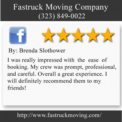 Fastruck Moving Company 11818 Riverside Dr Ste 118 Valley Village, CA 91607 (323) 849-0022  http://www.fastruckmoving.com/huntington-beach-movers/