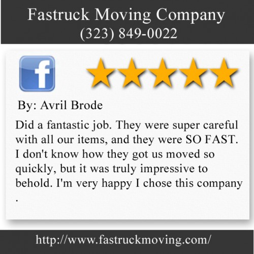 Fastruck Moving Company 11818 Riverside Dr Ste 118 Valley Village, CA 91607 (323) 849-0022  http://www.fastruckmoving.com/hermosa-beach-movers/