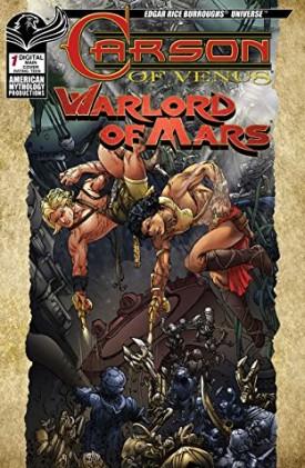 Edgar Rice Burroughs Carson of Venus - Warlord of Mars 001 (2019)