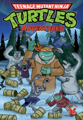 Teenage Mutant Ninja Turtles Adventures v16 (2018)