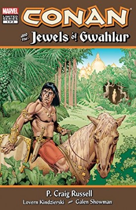 Conan and the Jewels of Gwahlur #1-3 (2019) Complete