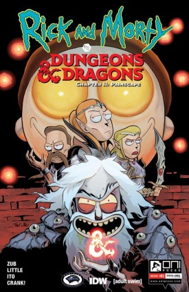 Rick and Morty vs. Dungeons & Dragons II - Painscape #1-2 (2019)