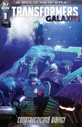 Transformers - Galaxies #1-3 (2019)