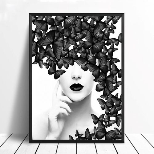 Nordic-Poster-Black-White-Butterfly-Woman-Wall-Art-Canvas-Prints-Wall-Pictures-Modern-Paintings-No-Framed.jpg