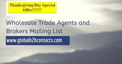 Wholesale Trade Agents and Brokers Mailing List