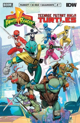 Mighty Morphin Power Rangers - Teenage Mutant Ninja Turtles #1-2 (2019-2020)