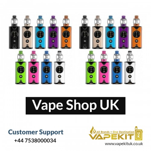 Vape Kit UK is a leading online Vape shop in UK that offers vaping hardware and e-liquid at reasonable prices. We provide Great customer service and super fast delivery.