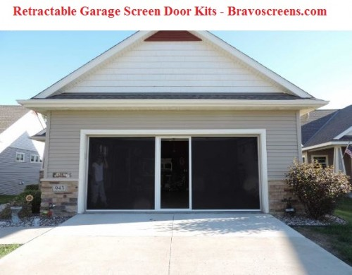 A more advanced garage door screen kit is the retractable garage screen. It can be used for single and double garage doors. Visit here today to buy diy retractable garage door screen at Bravoscreens.  Visit here : https://bravoscreens.com/category/garage-door-screen-kits/