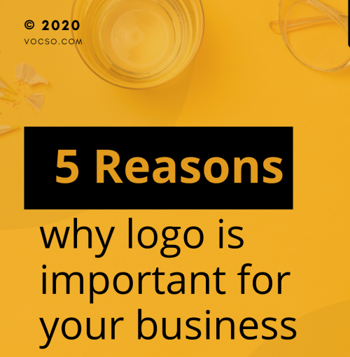 5 Reasons why a logo is important for your business  1. Reveals your identity 2. Invites new customers to get to know you 3. Distinguishes you from the competition 4. Facilitates brand loyalty 5. Can be everywhere  We design an authentic logo for brands. Get your one today https://bit.ly/2PaCOPN