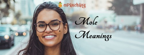 Moles are the unique birthmarks that found on face & body. Moles on body tell a lot about a person's character, future, luck or misfortune. Know about your mole meaning on body.  https://www.mpanchang.com/articles/astrology/meaning-of-moles-on-body/