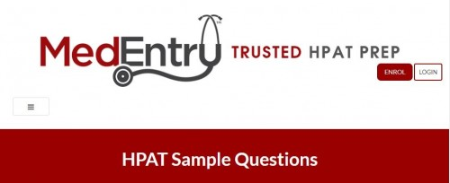 A set of FREE HPAT sample questions that cover a range of possible questions you may face in the real HPAT exam.  Visit us: https://www.medentry-hpat.ie/resources/hpat-sample-questions