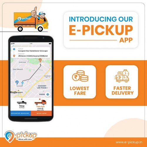 E-pickup is a service-based app that solves all sorts of logistic problem that is majorly faced during the transportation process. Our service aims to help and solve problems of the ones, who find difficulty in transporting their goods.  Be it an enterprise with a large set of orders or individuals with a small item, we are diligent-enough to offer our services to everyone. Our app can be better explained as an extension of ride-sharing apps for trucks and tempos. The E-pickup app connects the users, carriers, fleet owners, and enterprise owners to deliver a hassle-free freight service.  Website -https://e-pickup.in/