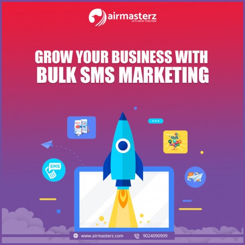 Airmasterz Business Services is the best company for Bulk SMS Services Provide Quality SMS in affordable rates. Airmasterz is best place for speedy bulk SMS delivery in low cost rate. We provide best Bulk SMS Service and IVR Services in Jaipur.  https://airmasterz.com/Bulk-SMS-Provider-in-Jaipur