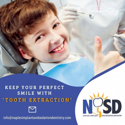 Modern dental medicine allows us to fight infection, provide minimally invasive treatments, and create lasting results. At Naples Implant and Sedation dentistry, FL, we provide comfortable tooth extractions, from simple to complex, including wisdom tooth removal. For any queries ping us an email at info@naplesimplantandsedationdentistry.com.