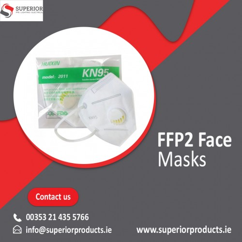 Our FFP2 Face Masks are designed to fit closer to the face than other disposable face masks. It also has improved comfort and protects the wearer from breathing in harmful particles. Protect yourself against solid and liquid aerosols, dust, mist and smoke even during longer periods of use.