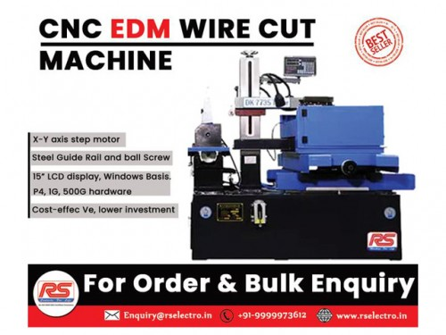 """""""FEATURES • X-Y axis step motor. • A good Cu ng thickness is upto 500mm or more. • Cost-effec Ve, lower investment. • 15"""" LCD display, Windows Basis.P4, 1G, 500G hardware. • Autocut with Autocad programming synchronously HL,HF is also available. • Steel Guide Rail and ball Screw.  If you are interested in our product , feel free to contact us at anytime. """" For More Information visit on:- https://www.rselectro.in/ Our Mail I.D:- Enquiry@rselectro.in Contact Us:-+91 9999973612,+91 9818231114"""