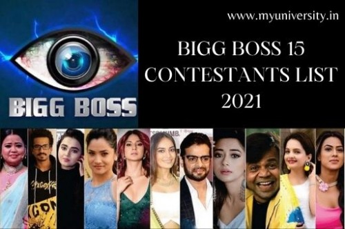 Are you looking for the Bigg Boss 15 Contestants List? Are you a big fan of Bigg Boss? If yes, then you are at the right place. We will provide Bigg Boss 15 Contestants List 2021 with names and photos. You can check the complete list of Bigg Boss 15 Contestants here.  Visit the website : https://myuniversity.in/pnb-peon-merit-list/