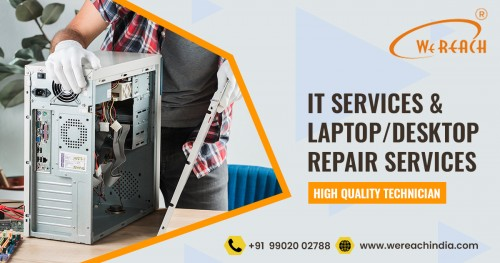 Are you looking for Laptop repair and Service Center in Koramangala, Bangalore? If Yes, then you are in the right place. We are the best in offering laptop repair and service in koramangala at affordable prices! Call Today>> Get our service in 50% offer price.  For More Details: https://www.wereachindia.com