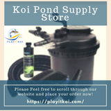 Play it Koi is your one-stop online store for all your pond supplies need. We got you covered in everything from pond filtration, pumps, pond kits, pond plants, koi pond heaters, pond vacuums, and many more. Please Feel free to scroll through our website and place your order now!  https://playitkoi.com/