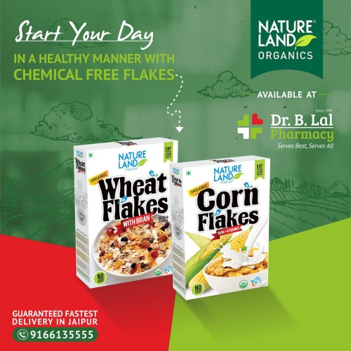 Start your day in a healthy manner with chemical-free flakes.  https://blalpharmacy.com/products